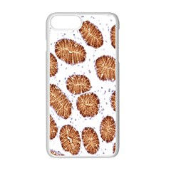 Formalin Paraffin Human Stomach Stained Bacteria Brown Apple Iphone 7 Plus White Seamless Case by Mariart
