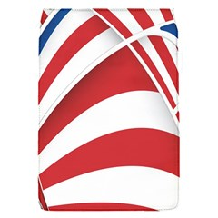 American Flag Star Blue Line Red White Flap Covers (s)  by Mariart