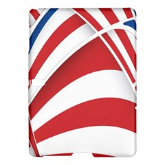 American Flag Star Blue Line Red White Samsung Galaxy Tab S (10 5 ) Hardshell Case  by Mariart