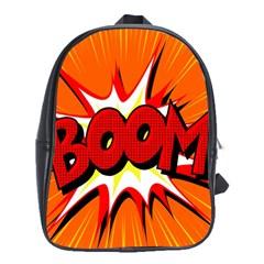 Boom Sale Orange School Bags(large)  by Mariart