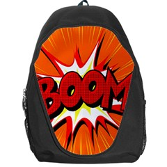 Boom Sale Orange Backpack Bag by Mariart