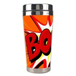 Boom Sale Orange Stainless Steel Travel Tumblers Left