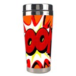 Boom Sale Orange Stainless Steel Travel Tumblers Center