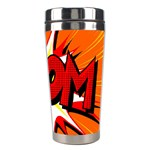 Boom Sale Orange Stainless Steel Travel Tumblers Right