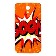 Boom Sale Orange Samsung Galaxy Mega I9200 Hardshell Back Case by Mariart