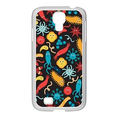 Worm Insect Bacteria Monster Samsung Galaxy S4 I9500/ I9505 Case (white) by Mariart