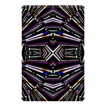 Dark Ethnic Sharp Bold Pattern Shower Curtain 48  x 72  (Small)  42.18 x64.8 Curtain