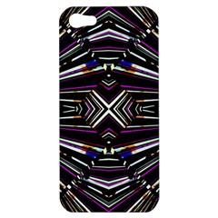 Dark Ethnic Sharp Bold Pattern Apple Iphone 5 Hardshell Case by dflcprints