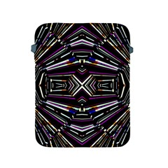 Dark Ethnic Sharp Bold Pattern Apple Ipad 2/3/4 Protective Soft Cases by dflcprints