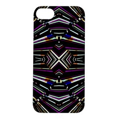 Dark Ethnic Sharp Bold Pattern Apple Iphone 5s/ Se Hardshell Case by dflcprints