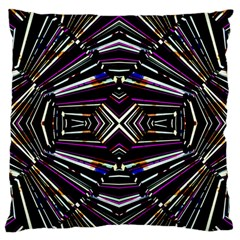 Dark Ethnic Sharp Bold Pattern Standard Flano Cushion Case (two Sides) by dflcprints