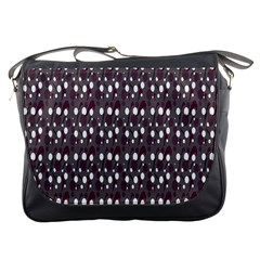 Circles Dots Background Texture Messenger Bags by Mariart