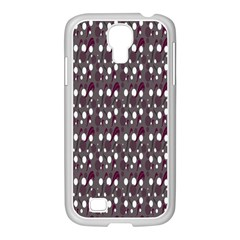 Circles Dots Background Texture Samsung Galaxy S4 I9500/ I9505 Case (white) by Mariart
