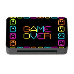 Game Face Mask Sign Memory Card Reader With Cf by Mariart