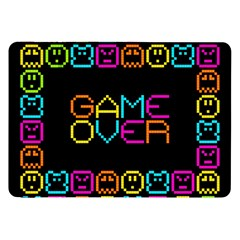 Game Face Mask Sign Samsung Galaxy Tab 8 9  P7300 Flip Case by Mariart