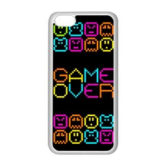 Game Face Mask Sign Apple Iphone 5c Seamless Case (white) by Mariart