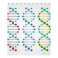 Genetic Dna Blood Flow Cells Shower Curtain 60  X 72  (medium)  by Mariart
