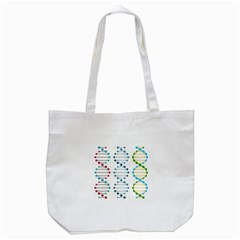 Genetic Dna Blood Flow Cells Tote Bag (white) by Mariart