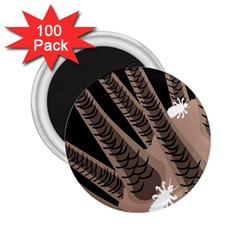 Head Lice Killer Hair 2 25  Magnets (100 Pack)  by Mariart