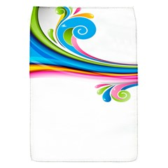 Colored Lines Rainbow Flap Covers (s)  by Mariart