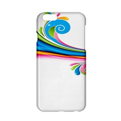 Colored Lines Rainbow Apple Iphone 6/6s Hardshell Case by Mariart