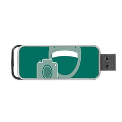Laughs Funny Photo Contest Smile Face Mask Portable Usb Flash (two Sides) by Mariart
