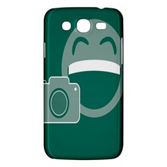 Laughs Funny Photo Contest Smile Face Mask Samsung Galaxy Mega 5 8 I9152 Hardshell Case  by Mariart