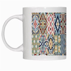 Deco Heritage Mix White Mugs by Mariart