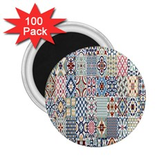 Deco Heritage Mix 2 25  Magnets (100 Pack)  by Mariart