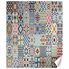Deco Heritage Mix Canvas 8  X 10  by Mariart