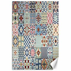 Deco Heritage Mix Canvas 20  X 30   by Mariart