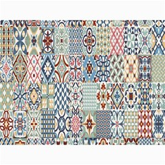 Deco Heritage Mix Canvas 36  X 48   by Mariart