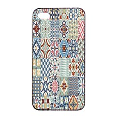 Deco Heritage Mix Apple Iphone 4/4s Seamless Case (black) by Mariart