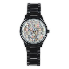 Deco Heritage Mix Stainless Steel Round Watch by Mariart