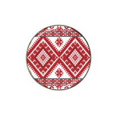 Fabric Aztec Hat Clip Ball Marker (10 Pack)