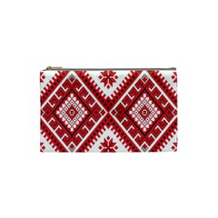 Fabric Aztec Cosmetic Bag (small)  by Mariart