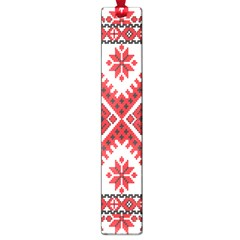 Fabric Aztec Large Book Marks by Mariart