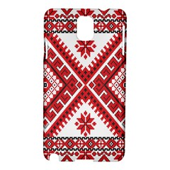 Fabric Aztec Samsung Galaxy Note 3 N9005 Hardshell Case by Mariart