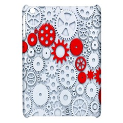 Iron Chain White Red Apple Ipad Mini Hardshell Case by Mariart