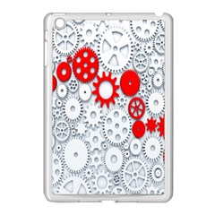 Iron Chain White Red Apple Ipad Mini Case (white) by Mariart