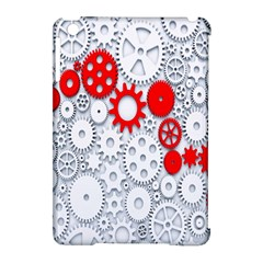 Iron Chain White Red Apple Ipad Mini Hardshell Case (compatible With Smart Cover) by Mariart