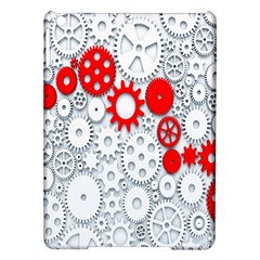 Iron Chain White Red Ipad Air Hardshell Cases by Mariart