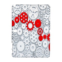Iron Chain White Red Galaxy Note 1 by Mariart