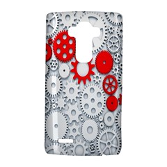 Iron Chain White Red Lg G4 Hardshell Case by Mariart