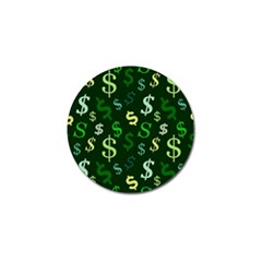 Money Us Dollar Green Golf Ball Marker (4 Pack) by Mariart