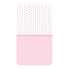 Love Polka Dot White Pink Line Memory Card Reader by Mariart