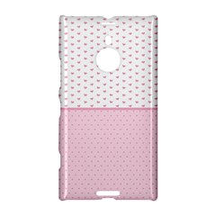 Love Polka Dot White Pink Line Nokia Lumia 1520 by Mariart