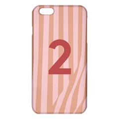Number 2 Line Vertical Red Pink Wave Chevron Iphone 6 Plus/6s Plus Tpu Case by Mariart