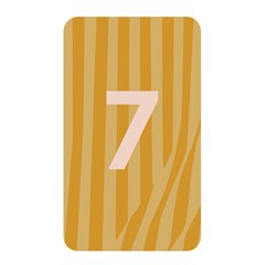 Number 7 Line Vertical Yellow Pink Orange Wave Chevron Memory Card Reader by Mariart