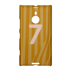 Number 7 Line Vertical Yellow Pink Orange Wave Chevron Nokia Lumia 1520 by Mariart
